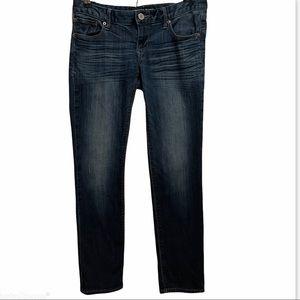 Express Skinny Stella Jeans Dark Wash 6 Short